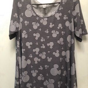 Small Minnie Mouse perfect t Disney lularoe